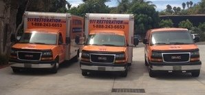 Commercial Property Damage Cleanup Vehicles